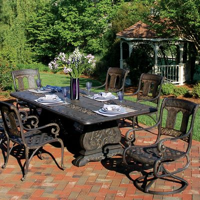 The St. Moritz Is By Far One Of The Most Popular Cast Aluminum Designs From