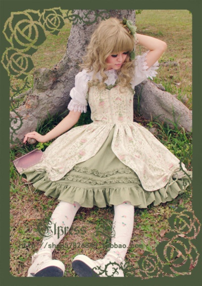 The dress is from Taobao, I think. She looks like a mythical creature. So cute!  Edit: The link is in the image. HA