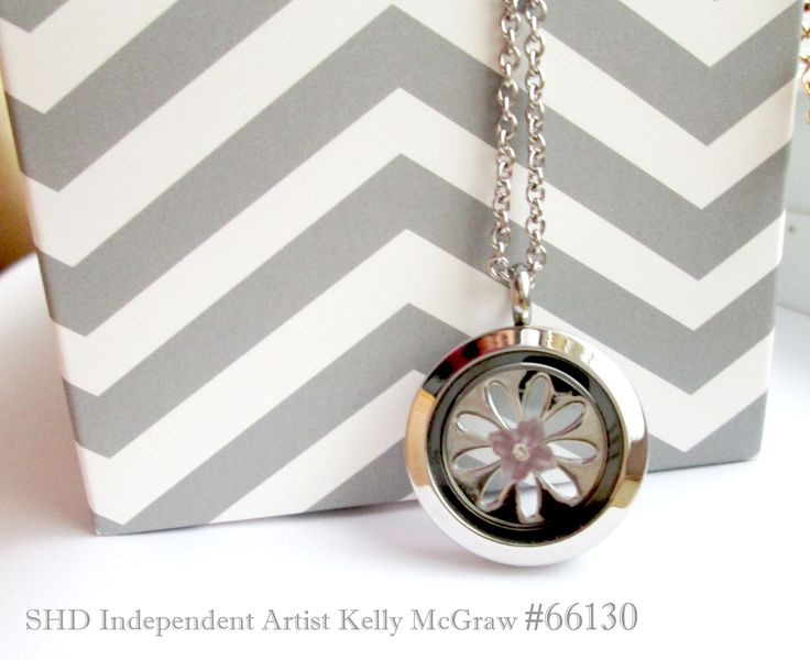 Jewelry, Spring Theme locket, South Hill Designs by Kelly McGraw #66130 med silver locket med silver sunflower screen crystal flower