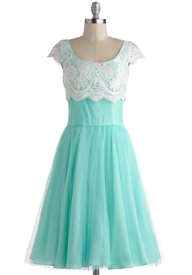 Breathtaking Belle Dress in Mint, #ModCloth