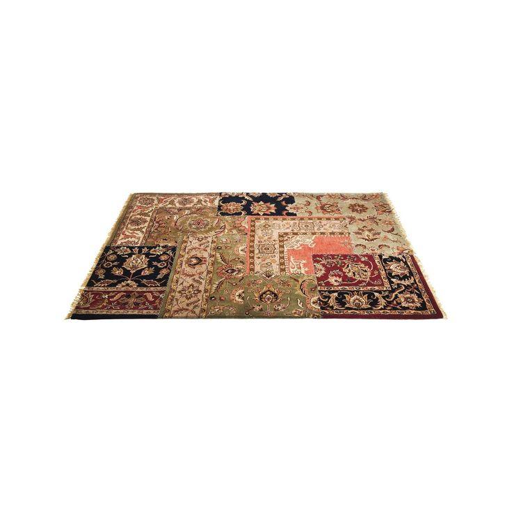 Tapis Carré Persian Patchwork 240x170 Kare Design