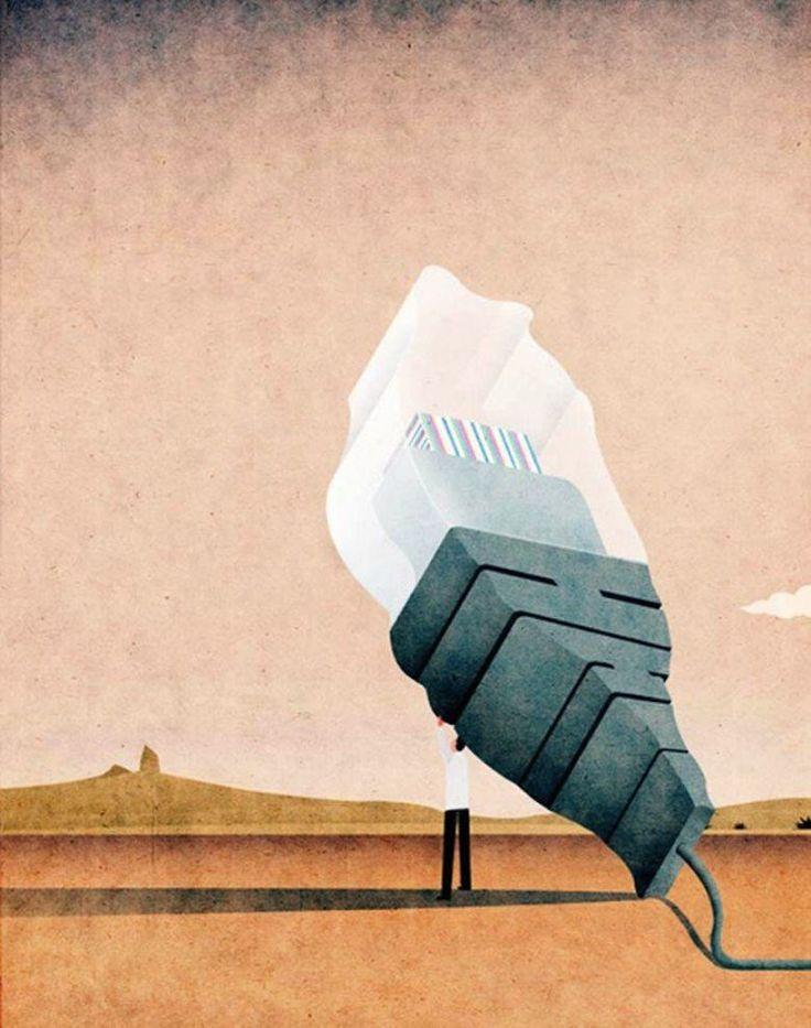 Le monde moderne en 22 illustrations satiriques de Kai Ti Hsu   Mr Mondialisation