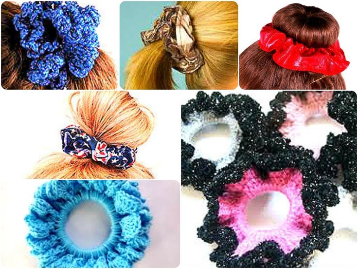 SCRUNCHIE, STYLE, FASHION + CROCHET+ DIY !