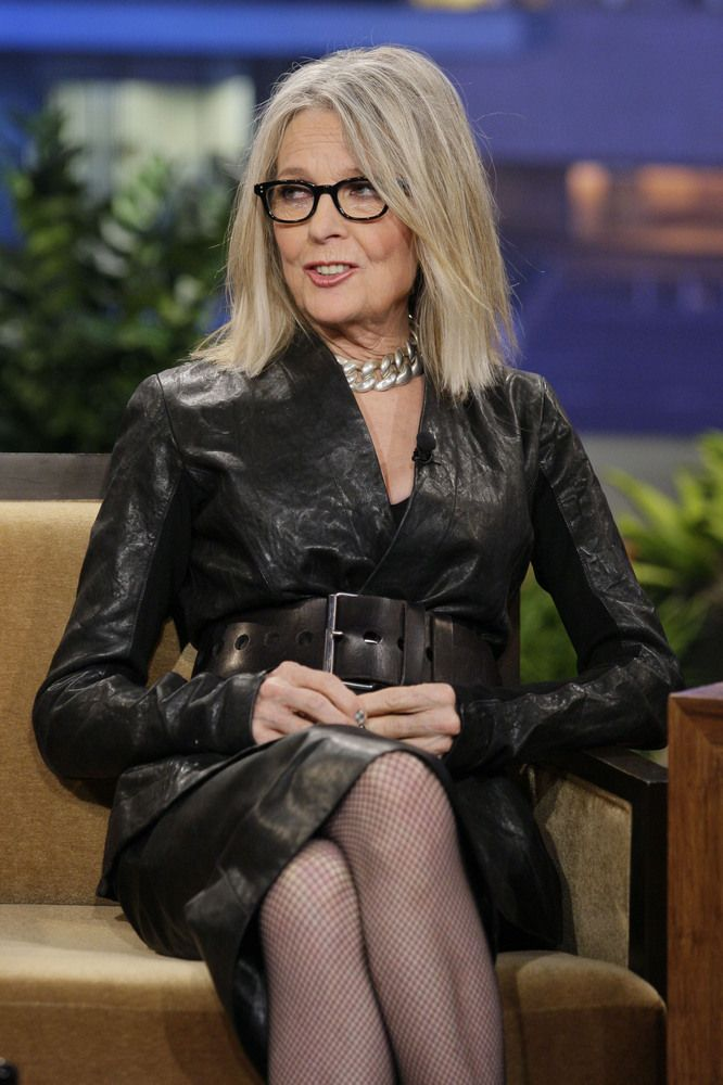 "Diane Keaton Age: 67..""WOW"" pretty much sums it up for me! She looks AMAZING and is a GREAT actress!"