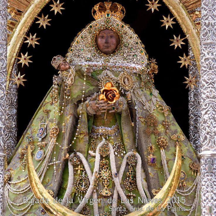 Programa oficial de actos Bajada de la Virgen de las Nieves 2015 Santa Cruz de La Palma