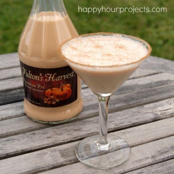 Pumpkin Pie Martini at www. happyhourprojects.com