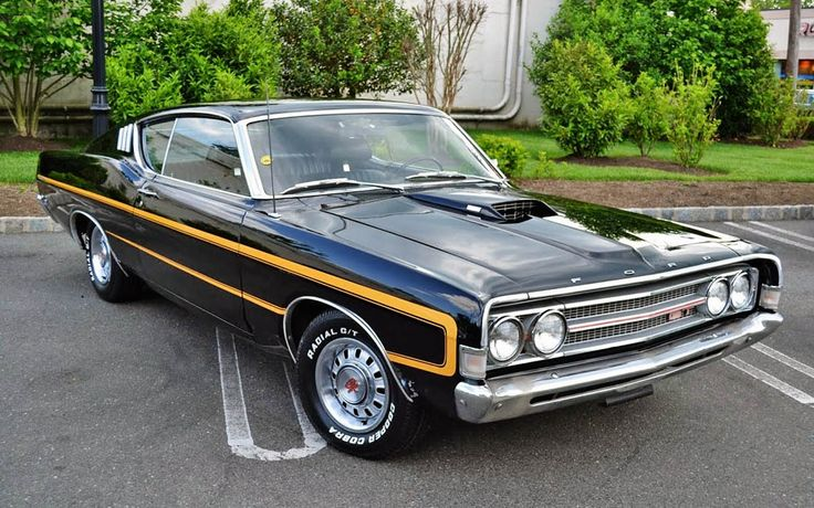 1969 Ford Torino GT Engine: 428 Cobra Jet Ram Air V-8