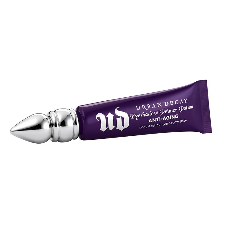 Seriously, the best primer for crease-free eye shadow for the entire day: Anti-Aging Eyeshadow Primer Potion by Urban Decay