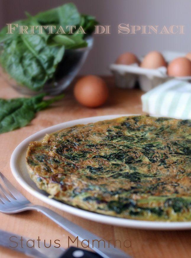Frittata di spinaci | Status mamma