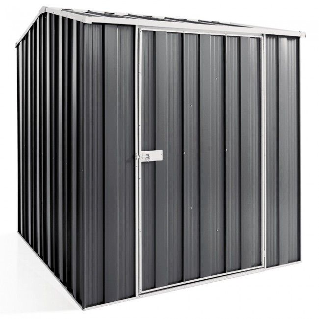 Cheap Sheds Gable Roof 1.76m x 2.1m Single Door Colour FREE Skylight