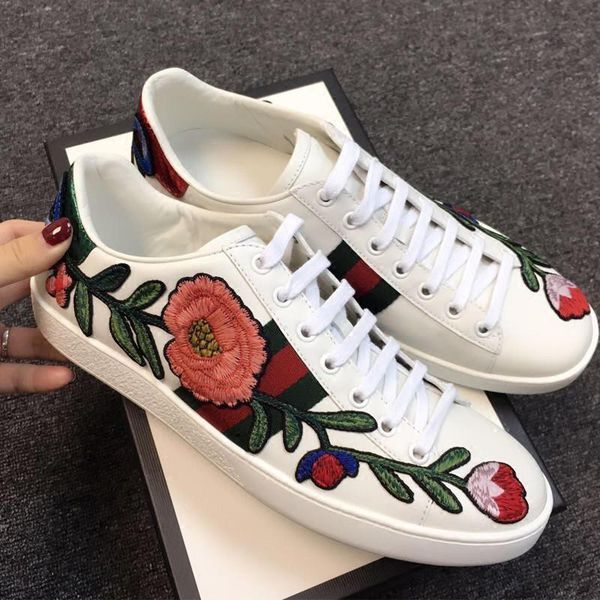 Gucci - Ace embroidered sneaker - All
