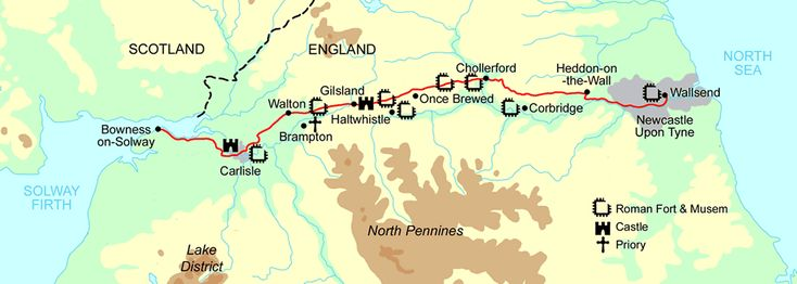 Hadrian's Wall path - 84 miles of outstanding natural beauty!
