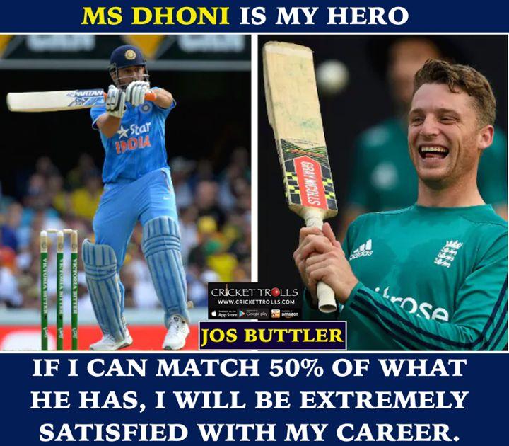 Jos Buttler about MS Dhoni #INDvENG #3rdODI For more cricket fun click: http://ift.tt/2gY9BIZ - http://ift.tt/1ZZ3e4d