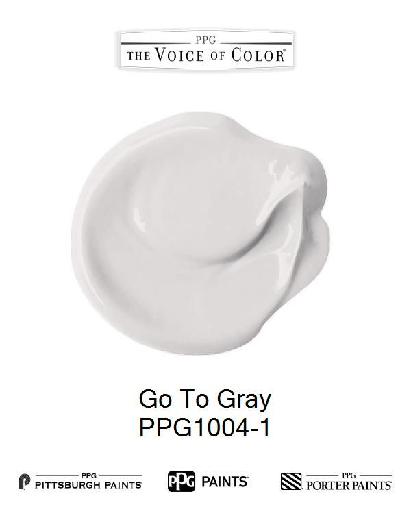 Go To Gray is a part of the 2017 Paint Color Trends, HourGlass collection by PPG Voice of Color®. Browse this paint color and more collections for more paint color inspiration. Get this paint color tinted in PPG PITTSBURGH PAINTS®, PPG PORTER PAINTS® & or PPG PAINTS™ products.