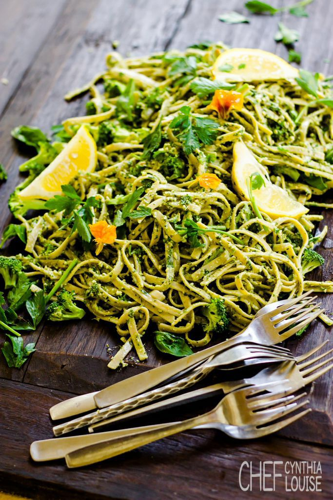 http://www.chefcynthialouise.com Pasta.....not just any wheat..Kamut grain with sprouted nut and hemp pesto