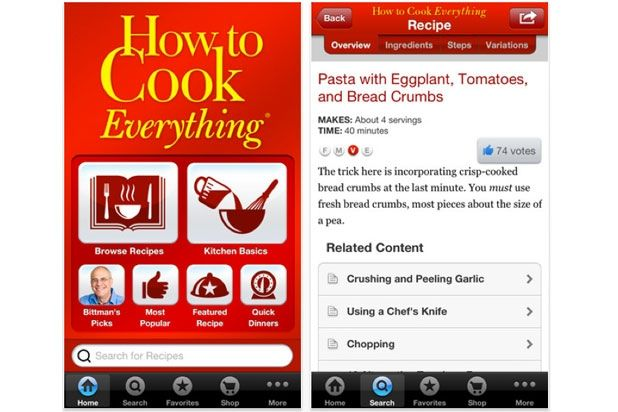15 Best Cooking Apps for Your Smartphone Slideshow | Slideshow | The Daily Meal