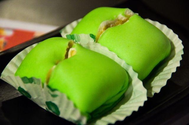 pancake durian rasanya..Ndesss bgt