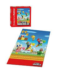 """New Super Mario Bros Wii Collector's Puzzle - 550-Piece - USAopoly - Toys """"R"""" Us"""