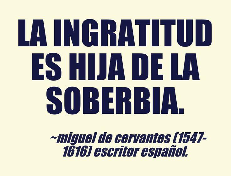 Miguel de Cervantes (1547-1616) Escritor español. #citas #frases