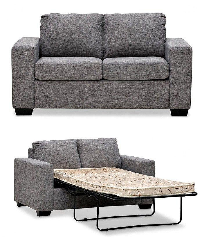 2 seater sofa bed from Super Amart on The Life Creative cheap sofa beds