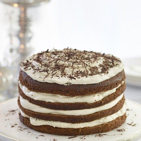 Chocolate tiramisu torte