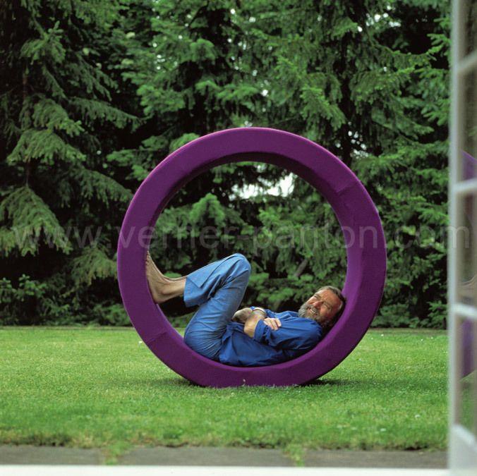 Verner Panton Sitting wheel Vitra 1974