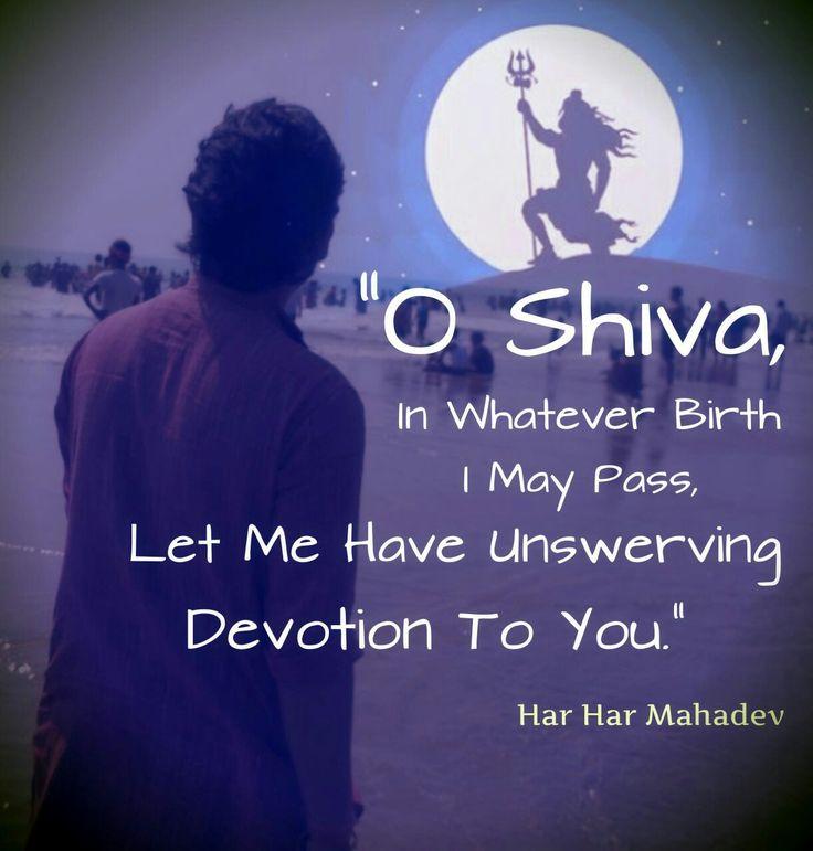 Lord Shiva...