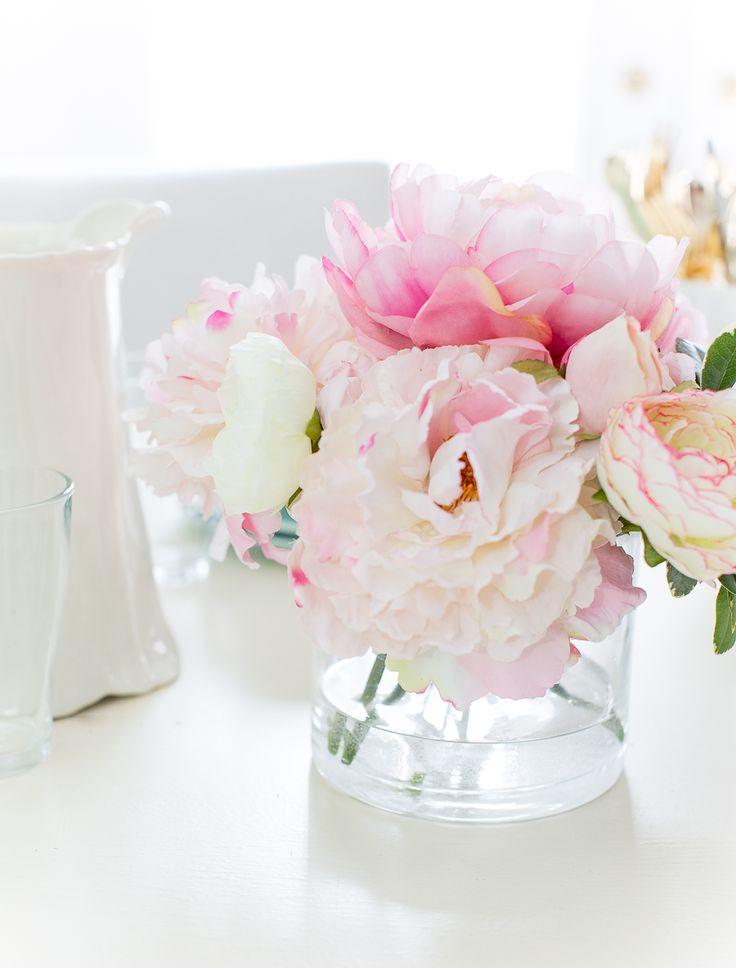 Craftberry Bush | DIY Faux Water for Artificial Flowers | http://www.craftberrybush.com