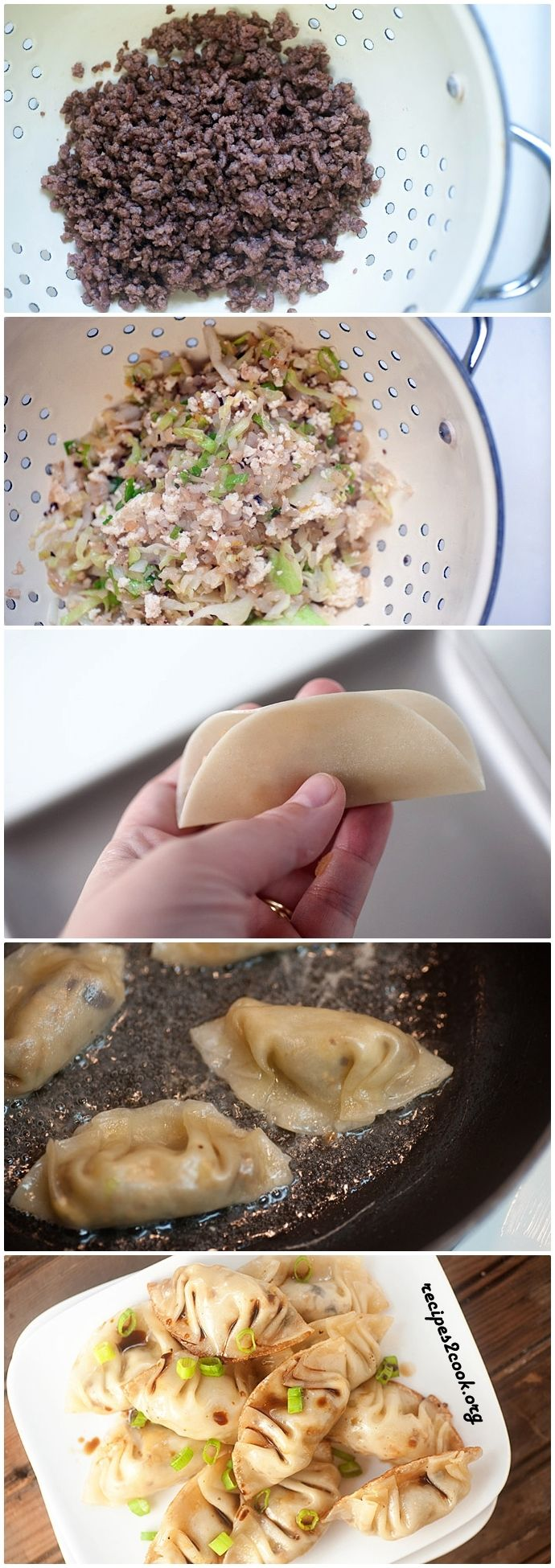 MANDU KOREAN DUMPLINGS | yummy | Pinterest