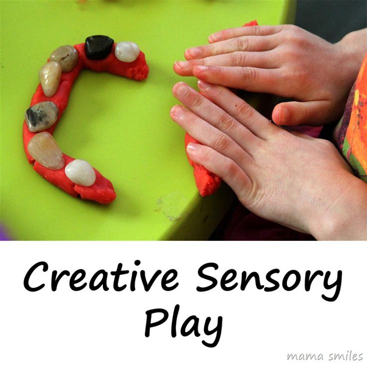 Combining different sensory elements for a creative experience is a great sensory exercise for older kids, who may be less engaged in traditional sensory play.