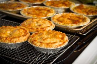 Pâté au #poulet, #champignons et poireaux #recettesduqc #pate #comfortfood