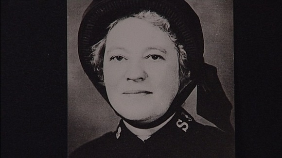 Elizabeth Nye, one of the last survivors to leave the Titanic as it sank.