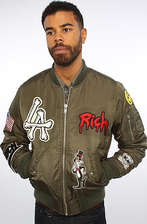 The Outdoor Patch Jacket in Khaki by Joyrich