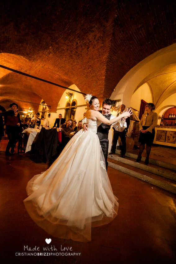 First dance - Wedding Villa Borromeo - San Casciano, Florence IT