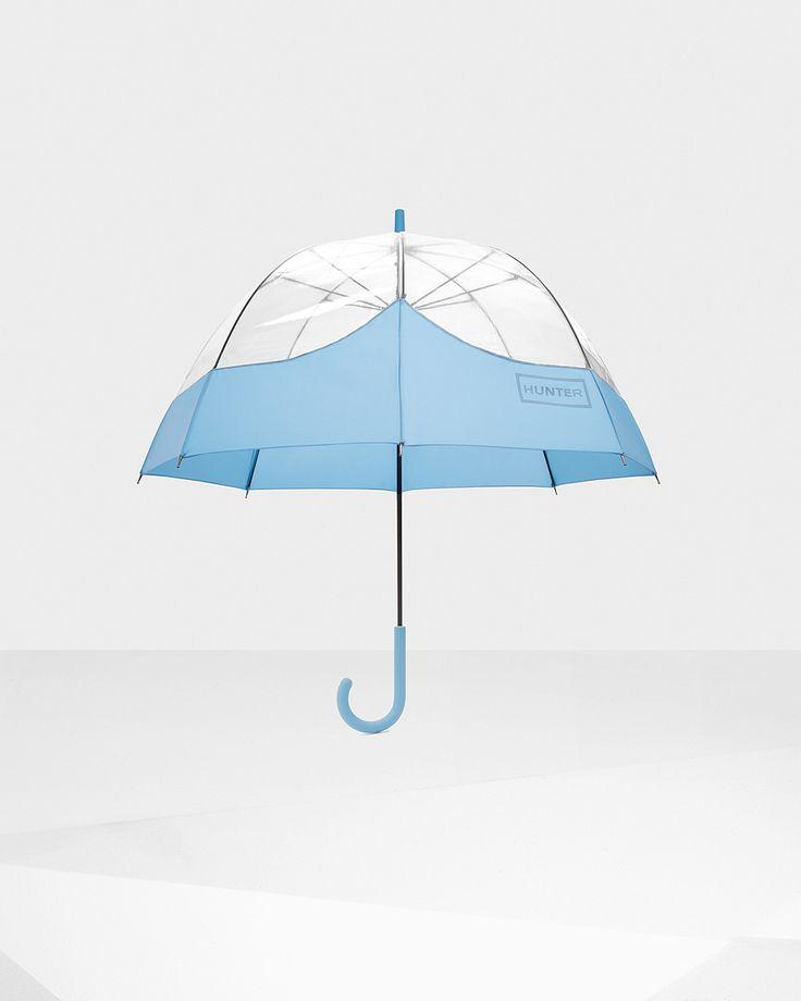여성 블루 버블 우산 | 공식 US 헌터 부츠 스토어