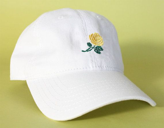 NEW Rose Dad Hat Baseball Cap low profile 100 % by BrainDazed