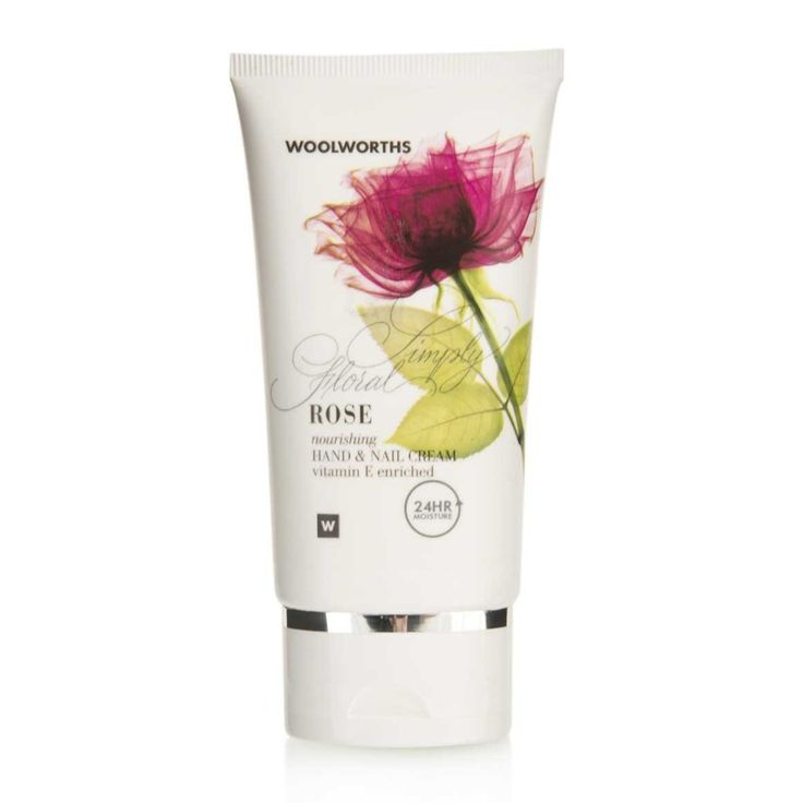 Hand & Nail Cream: Rose, Simply Floral