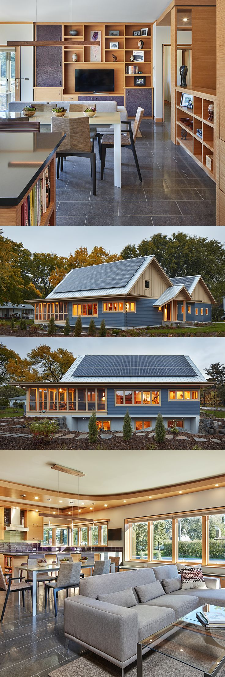 A home and landscape with intensive energy