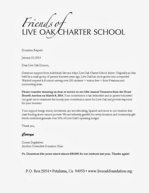 Sample Letter Asking For Donations For School With Images