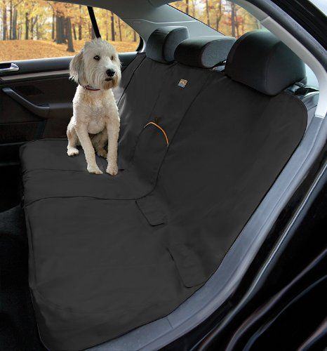 Kurgo Waterproof Car Bench Seat Cover for Dogs Black