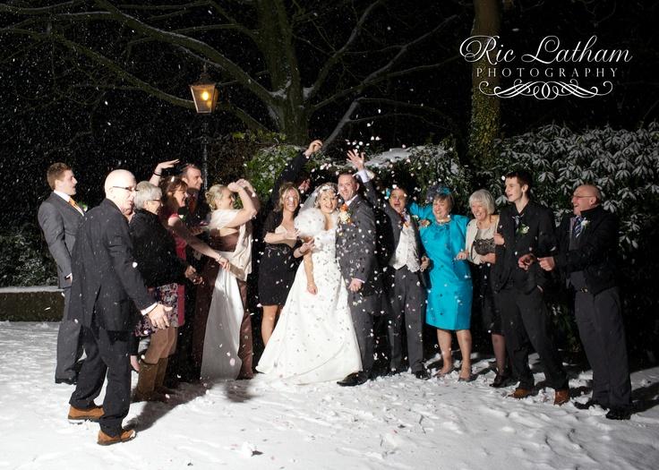 Alex And Karls Snowy Winter Wedding At Norton Grange Rochdale C Facebook Manchesterweddingphotos