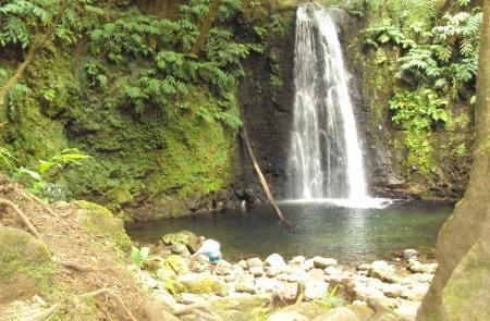 PR11SMITrilho da Ribeira do Faial da Terra - Mapas e GPS - Percurso Pedestre em São Miguel - Trilhos dos Açores