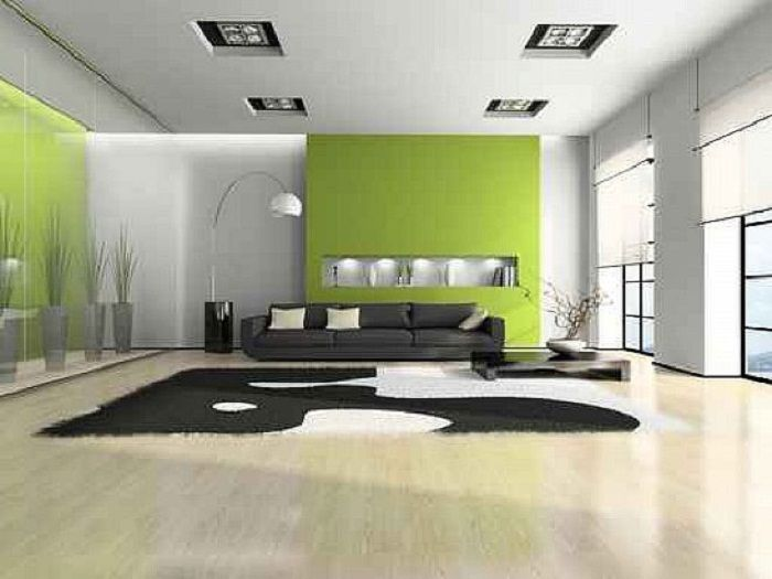 Captivating Interior House Painting Ideas Green White ~ Http://lanewstalk.com/find