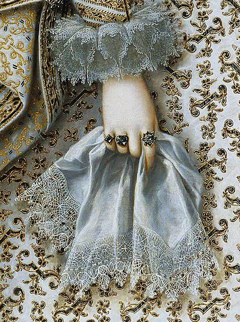Rodrigo de Villandrando, 1620 https://www.museodelprado.es/coleccion/obra-de-arte/isabel-de-borbon-esposa-de-felipe-iv/32aa7087-3c47-45ed-918f-7a9a1fee365b