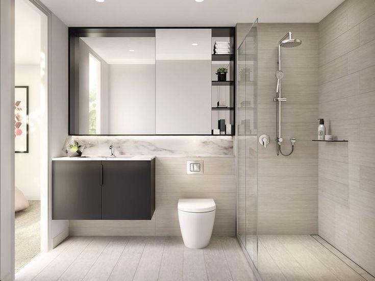 Ideas para dise ar ba os modernos peque os toilet - Imagenes de banos pequenos ...