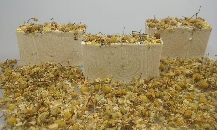ręcznie robione mydło rumiankowe na www.delikatesymydlane.pl/sklep