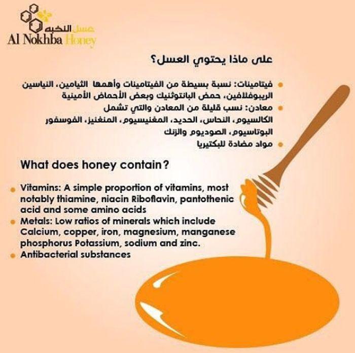Honey Contains Benifits Of Honey Honey Vitamins