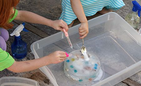 Digging for ice treasures - understanding how ice melts and how to accelerate the process