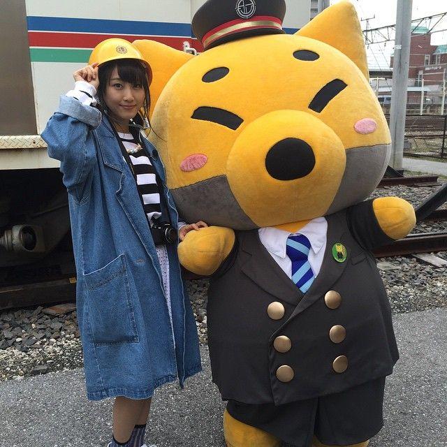 「がちゃこん #きつね #近江鉄道」