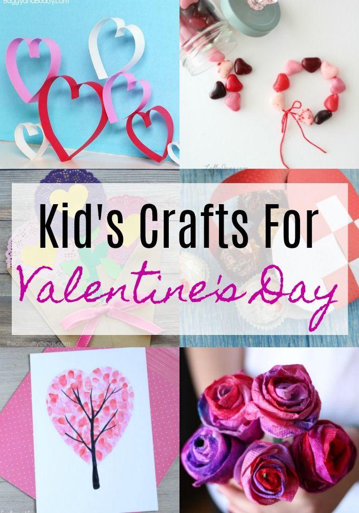 Kid S Valentine S Day Crafts Resin Crafts Blog Pinterest